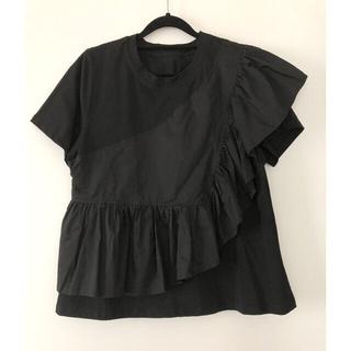 mame - アシンメトリーデザイン カットソー Tシャツ
