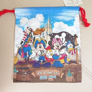 Disney - 【新品・未使用】ディズニーランド クールザヒート 2011 巾着
