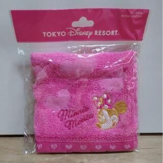 Disney - 【新品未使用品】ディズニー ミニーマウス タオルハンカチ