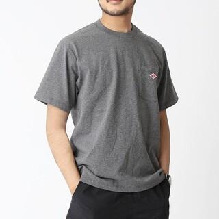 ダントン(DANTON)のDANTON Tシャツ ロゴ ポケT ユニセックス クルーネック(Tシャツ/カットソー(半袖/袖なし))