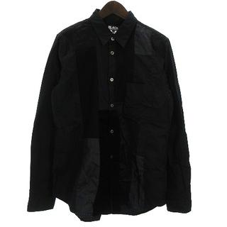 ブラックコムデギャルソン(BLACK COMME des GARCONS)のBLACK COMME des GARCONS 20年製 パッチワークシャツ L(その他)