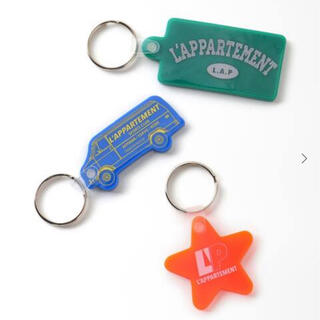 L'Appartement DEUXIEME CLASSE - アパルトモン Quiky Key Tag 3P Set(Star) キータグ