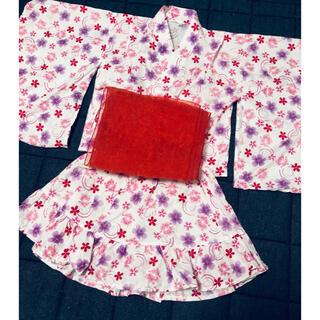 ニシマツヤ(西松屋)の西松屋 浴衣ドレス 120cm (甚平/浴衣)