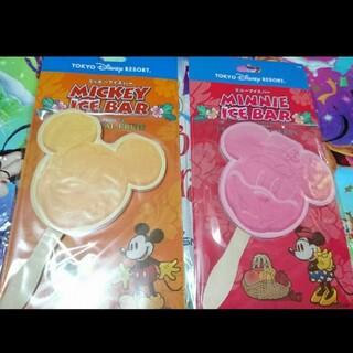 Disney - ディズニー ミッキーシェイブ アイスキャンディ メモ セット
