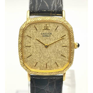 セイコー(SEIKO)のCREDOR クレドール 5A70-5440  K18YG  時計(腕時計)
