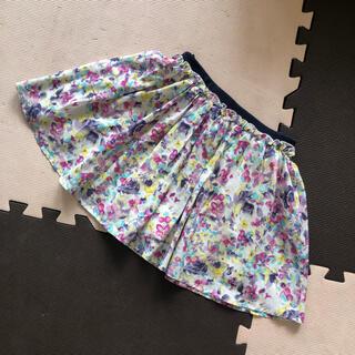 ライトオン(Right-on)の花柄フリルスカート☆サイズ140(スカート)
