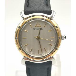 セイコー(SEIKO)のCREDOR クレドール 7371-0030  K18YG/SS  時計(腕時計)