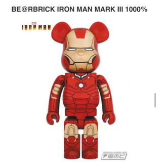 メディコムトイ(MEDICOM TOY)のBE@RBRICK IRON MAN MARK III 1000% ベアブリック(その他)