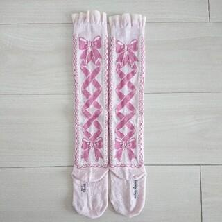 Shirley Temple - トゥシューズ リボン ソックス 靴下 シャーリーテンプル