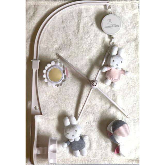 【⭐️こりん様専用⭐️】ミッフィーのベッドメリー☁️ キッズ/ベビー/マタニティのおもちゃ(オルゴールメリー/モービル)の商品写真