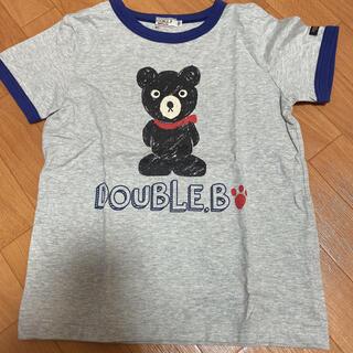 DOUBLE.B - ダブルビー Tシャツ 120