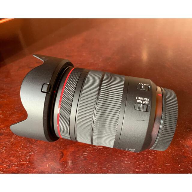 Canon(キヤノン)のCanon RF 24-105mm F4 L IS USM フィルター付き スマホ/家電/カメラのカメラ(レンズ(ズーム))の商品写真