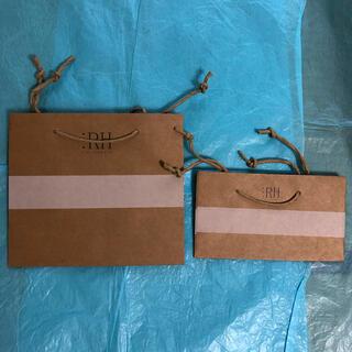 ロンハーマン(Ron Herman)のプレゼントに必須アイテム【Ron Herman】ショップ袋2枚セット(未使用)(ショップ袋)