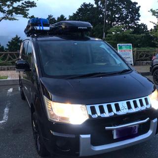 三菱 - デリカd5 クロ 車検あり