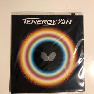 バタフライ(BUTTERFLY)のテナジー25FX 黒 中(卓球)