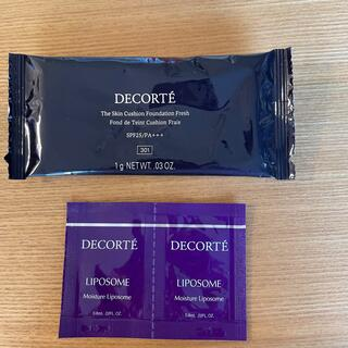 コスメデコルテ(COSME DECORTE)のコスメデコルテ モイスチュア リポソーム 美容液2枚 クッションファンデーション(美容液)
