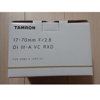 TAMRON - 【新品】タムロン 17-70mm F/2.8 ソニーEマウント用 (B070)