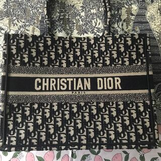 Christian Dior - ♡ ディオールブックトート ネイビー トートバッグ♡