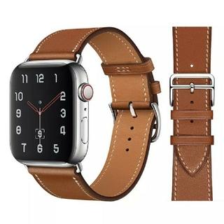 Apple Watch レザーバンド 38/40mm  ブラウン