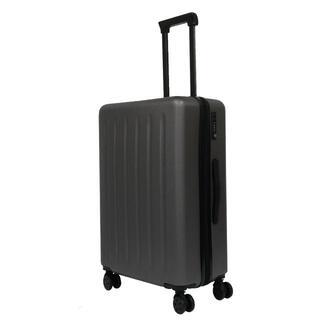 軽量 スーツケース TSAロック搭載 360°回転キャスター 【S】色:グレー(旅行用品)