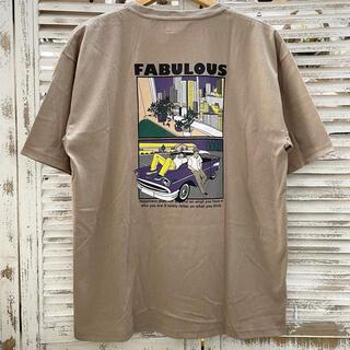 夏物セール 新品 タグ付き 刺繍 ユニセックス レトロ プリントTシャツ