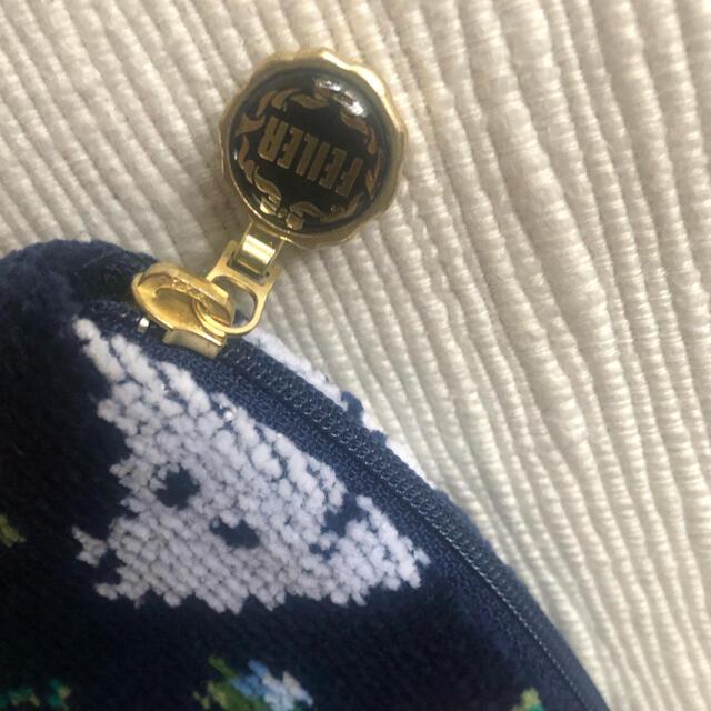 FEILER(フェイラー)の【新品】フェイラー×ムーミンコラボ ポーチM リトルミィ 完売品 レディースのファッション小物(ポーチ)の商品写真