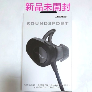 BOSE - 新品 BOSE SoundSport wireless headphones 黒
