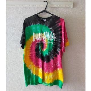 ワニマ(WANIMA)のWANIMA ロッキン限定 タイダイTシャツ Lサイズ(Tシャツ/カットソー(半袖/袖なし))