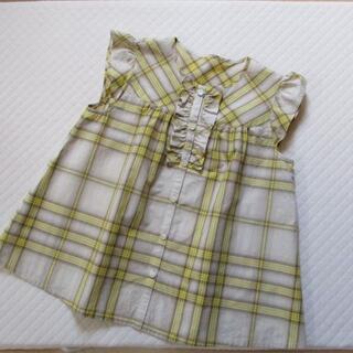 BURBERRY - 子供服 バーバリー BURBERRY ワンピース 130A 日本製 三陽商会