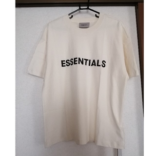 FEAR OF GOD - エッセンシャルズ Tシャツ Cream   S