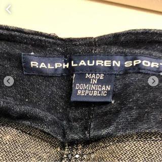 ポロラルフローレン(POLO RALPH LAUREN)のラルフローレン ☆彡 デニムスカート 大きいサイズ(ひざ丈スカート)