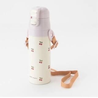 petit main - 新品 プティマイン  さくらんぼ柄 水筒