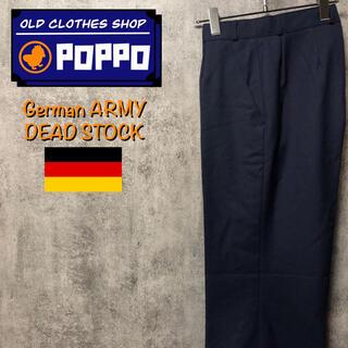 ドイツ軍☆ポリウールスラックスタックパンツ 90s