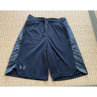 UNDER ARMOUR - アンダーアーマー★デザインハーフパンツ黒YLG150