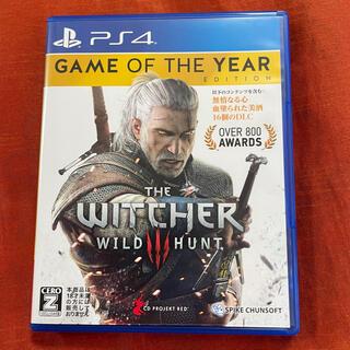 PlayStation4 - ウィッチャー3 ワイルドハント ゲームオブザイヤーエディション PS4 ソフト