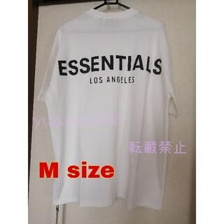 FEAR OF GOD - エッセンシャルズ LA限定Tシャツ white M