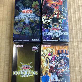 遊戯王 未開封 BOX エクストラパック2016 遊馬編2 ゴールドパック(Box/デッキ/パック)