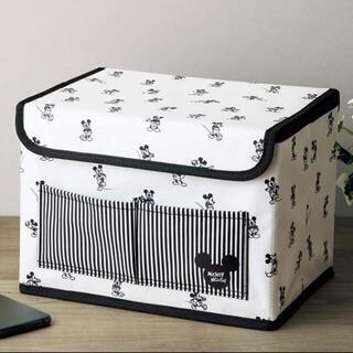 Disney - InRed インレッド 【付録】 ミッキーマウス デザイン 収納ボックス