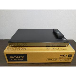 SONY - SONY ブルーレイディスクレコーダー BDZ-ET1100