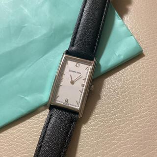 ティファニー(Tiffany & Co.)のTIFFANY&Co ティファニー 腕時計 スクエア シルバー(腕時計)