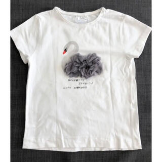 ZARA - 最終お値下げ!ZARAkids チュール付きトップス Tシャツ128cm