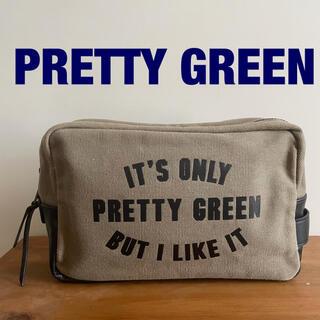 Pretty Green  IT'S ONLY PRETTY GREEN ポーチ