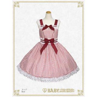 BABY,THE STARS SHINE BRIGHT - Baby マーガレットのprésageギンガムジャンパースカート