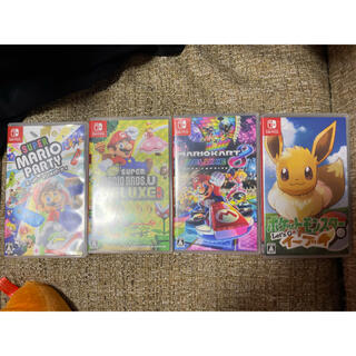 Nintendo Switch - Nintendo Switch ソフト マリオ ポケモン