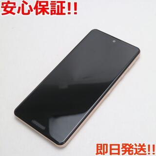 エイスース(ASUS)の美品 SIMフリー AQUOS sense4 lite SH-RM15 カッパー(スマートフォン本体)