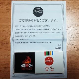 コカ・コーラ - 【新品】coke on/コカ・コーラ/東京2020記念ピン バッジ/非売品