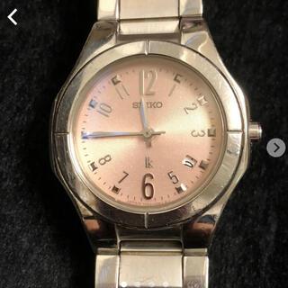 セイコー(SEIKO)のSEIKO セイコー★ルキア レディース 時計 ピンク(腕時計)
