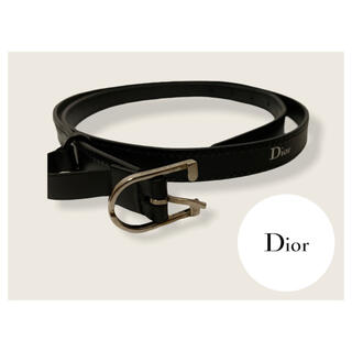 Dior - Dior Homme  レザーベルト
