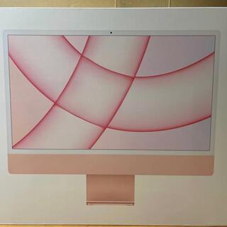 Mac (Apple) - 【新品未開封 】iMac 24インチ 【ピンク】