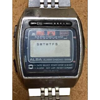 アルバ(ALBA)のジャンクALBA ALARM CHRONO GAMEアラームクロノゲームアルバ (腕時計(デジタル))